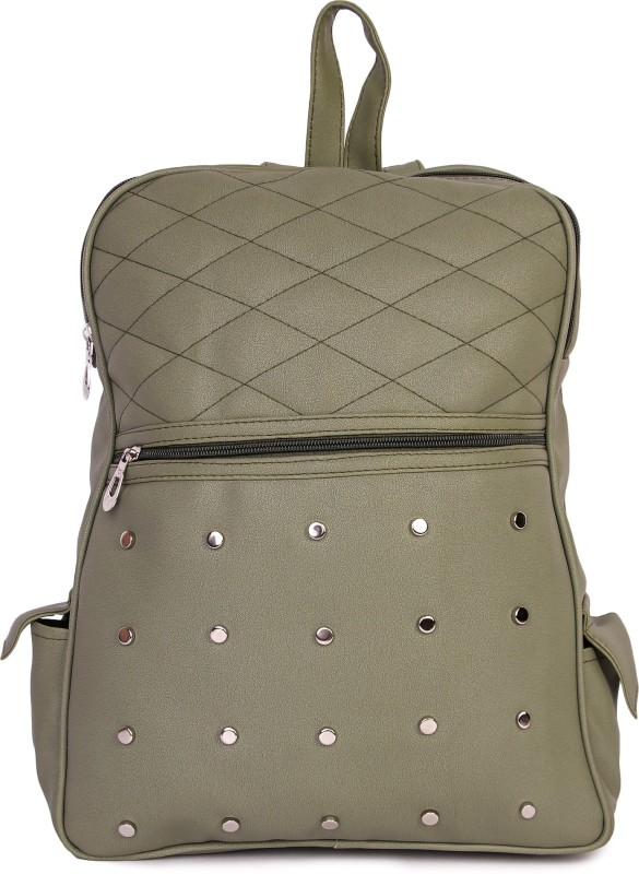 HZB Collection Barfi Cut Backpack Backpack(Green, 25 L)