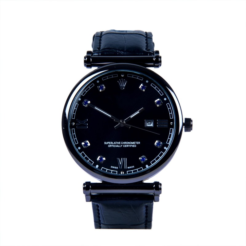 INFINITY TRADE New Trending Stylish rolex black watch for men Analog Watch - For Men