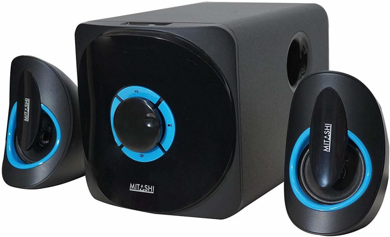 Mitashi HT 5060 BT 2.1 Ch Home Theatre System 3500W PMPO 3500 W Bluetooth Home Theatre(Black, 2.1 Channel)