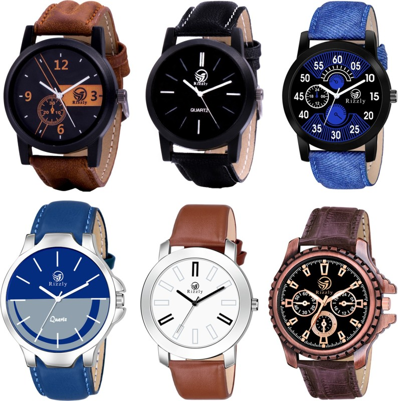 Rizzly New Stylish Boys Combo Analog Watch - For Men
