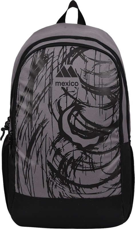 Mexico Star-Grey 30 L Backpack(Grey)