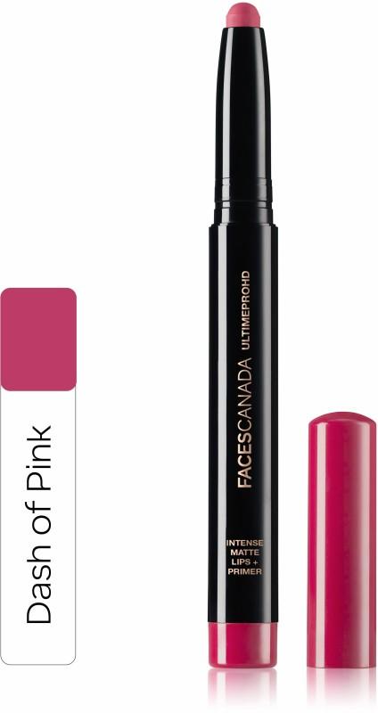 Faces Canada Ultime Pro HD Intense Matte Lips + Primer 05 Dash of Pink 1.4g(Dash Of Pink 05, 1.4 g)