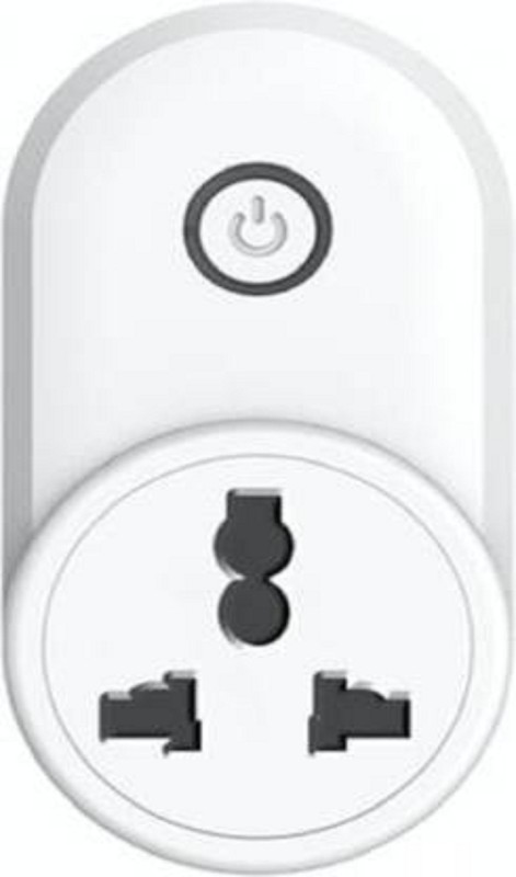 housemate WiFi Smart Multi Plug Socket(Pack of 1)   Works with Smart Life, Alexa, Google Home and IFTTT (White) Smart Plug(White)