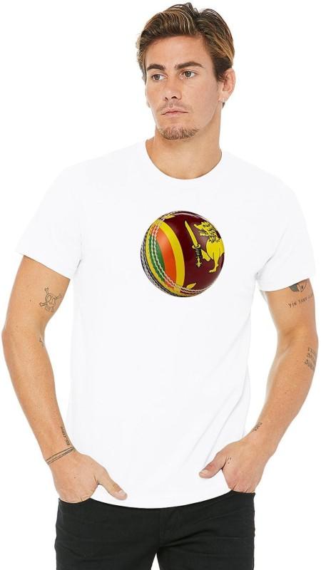 T20 Kart Sports Men Round Neck Reversible White T-Shirt