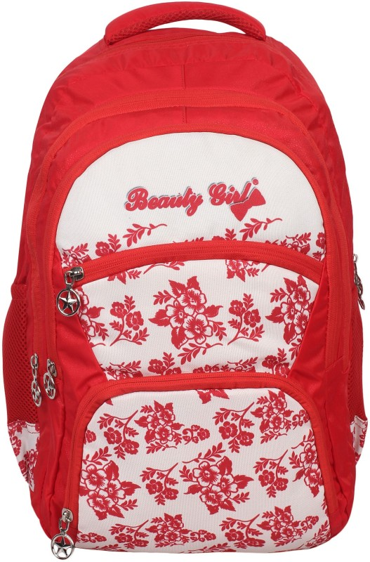 Hot Shot Casual Trip Tour Backpack Shoulder Bag for Boys & Girls with Rain Cover 30 L Backpack(Red)