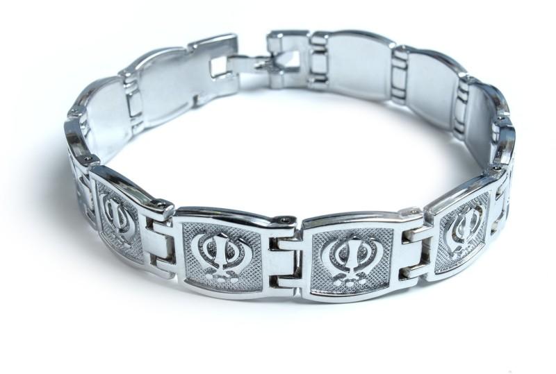 Waama Jewels Metal Silver Bracelet