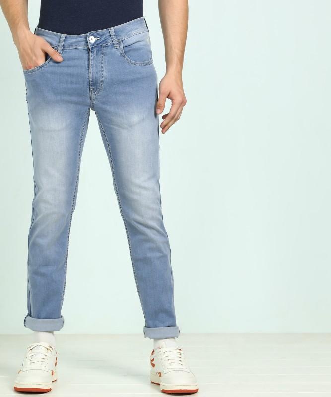 Flying Machine Slim Men Light Blue Jeans