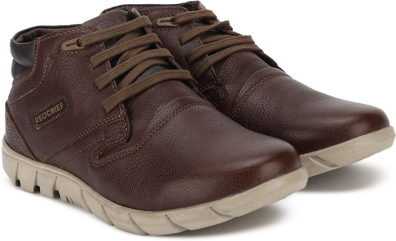 Red Chief Boots For Men(Brown)