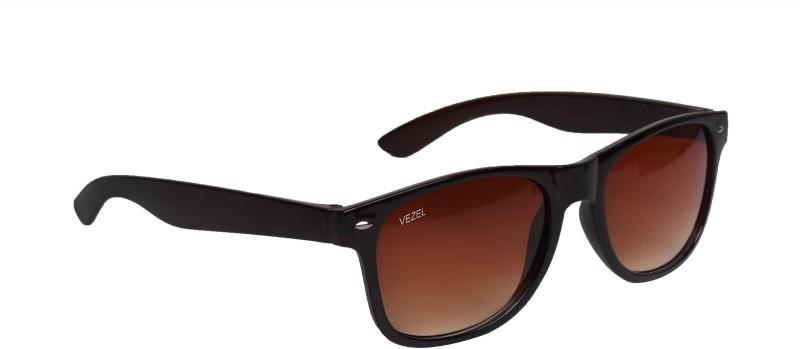 FEMISH Wayfarer Sunglasses(Brown)