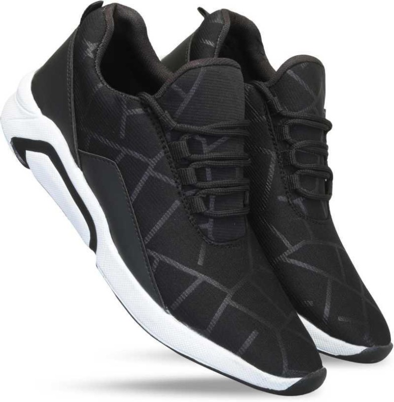 DEMARA Running Shoes For Men(Black)
