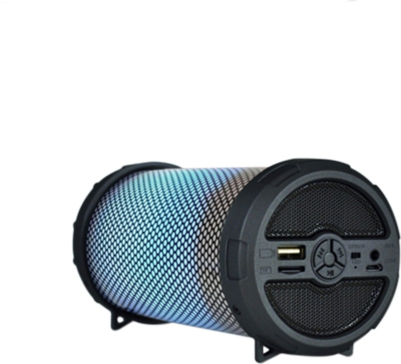 ALPINO Thar Blaze(JP109AP) | RGB Light | SD/FM/AUX/USB Support | 1200mAh Battery with 5-6 hour backup 5 W Bluetooth Speaker(Multicolor, Stereo Channel)