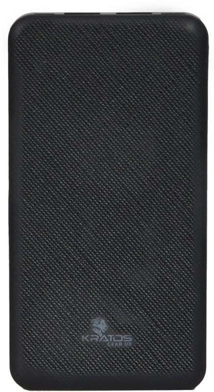 Kratos 10000 mAh Power Bank(Black, Lithium Polymer)