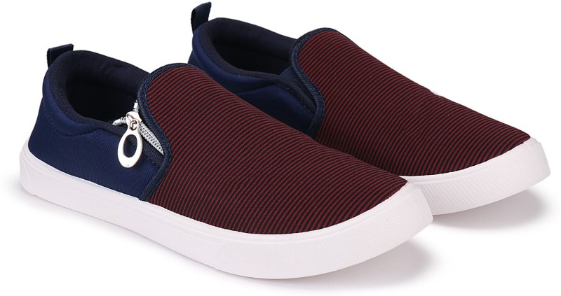 Oricum Party Casual Shoes, Outdoor Boots ,Best Rates, Canvas Shoes,Sneakers Shoes , Loafers Shoes, Trendy Shoes, Trekking Shoes, Sports Shoes ,Top Rated, Best Rates,Light Weight, Juta, Walking Shoes, Rain Shoes, Slip On, Suj, Waterproof, Rainy Shoes, Comfortable For Men'S/Boys'S (Blue-3006) Canvas S