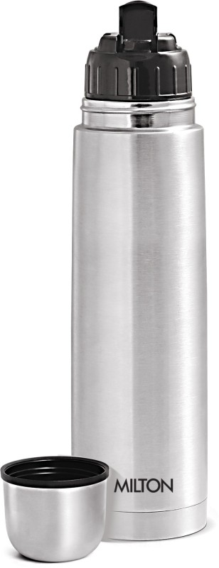 Milton Thermosteel Flip lid 1000 ml Flask 1000 ml Flask(Pack of 1, Silver)