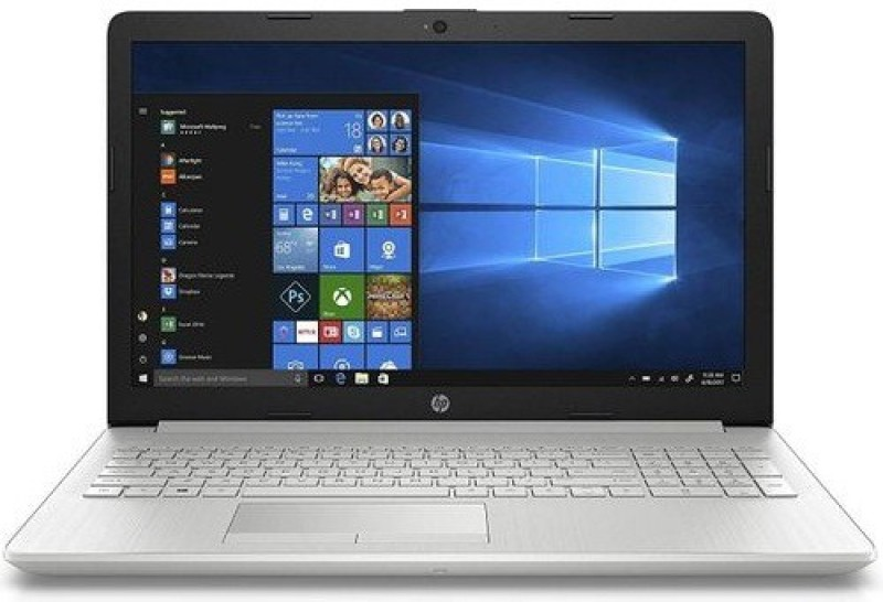 HP 15 Ryzen 5 Dual Core - (4 GB/1 TB HDD/Windows 10 Home) 15-db1061AU Laptop(15.6 inch, Natural Silver, 1.77 kg, With MS Office)