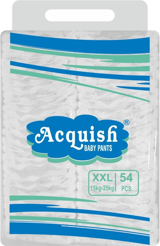 acquish Disposable Baby Pants - XXL(54 Pieces)