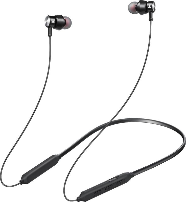 boAt Rockerz 240 Bluetooth Headset(Black, In the Ear)