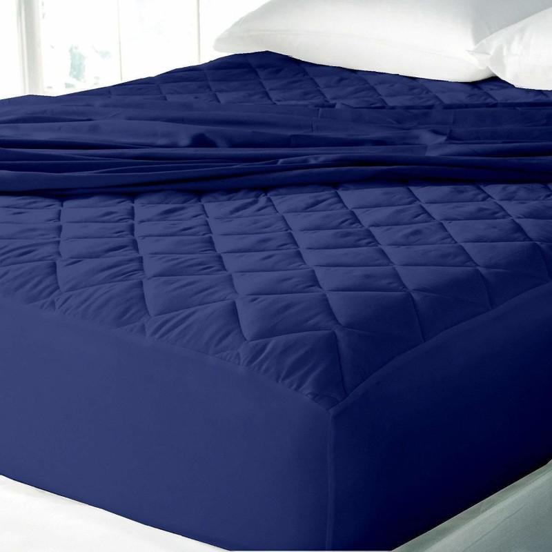 AVI Fitted XL Size Waterproof Mattress Protector(Blue)