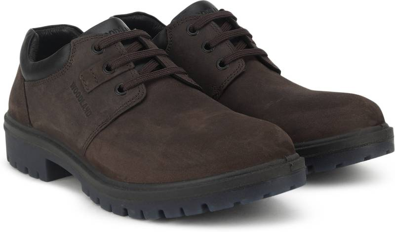 Woodland Corporate Casuals For Men (Brown)