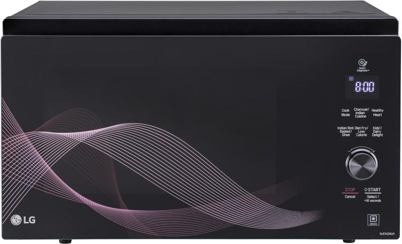 LG 32 L Convection Microwave Oven(MJEN326UH, Black)