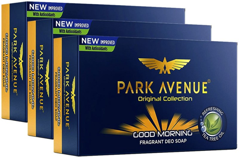 Park Avenue Good Morning Soap(3 x 125 g)