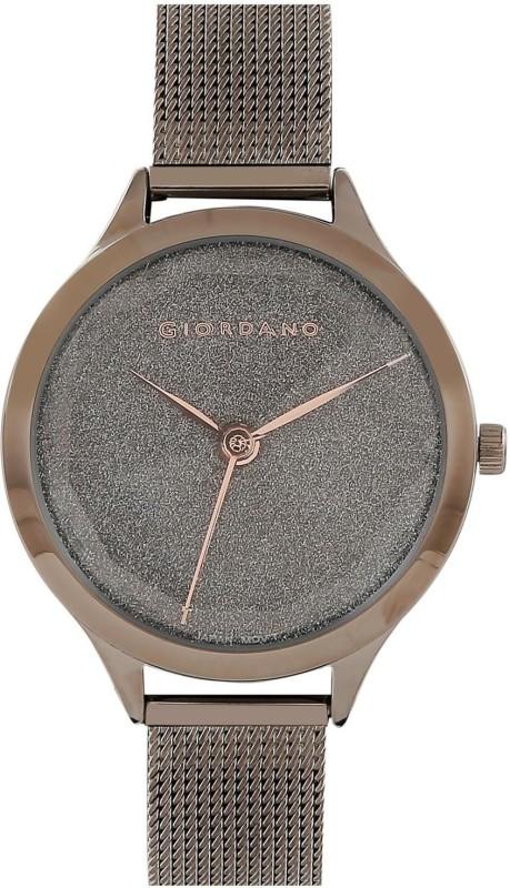 Giordano GD-2068-33Brown Analog Watch - For Women