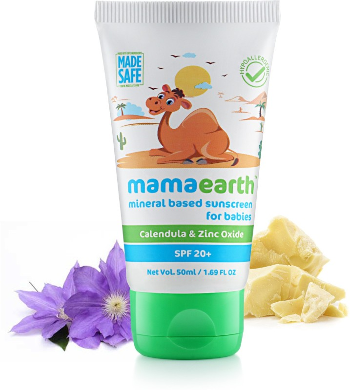 Mamaearth Mineral Based Sunscreen for Babies(50 ml)