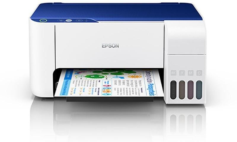 Epson L3115 Multifunction InkTank Printer Multi-function Color Printer(White)