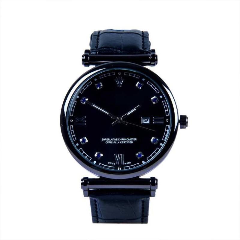 Prisha Enterprise New Trending Stylish rolex black watch for men Analog Watch - For Men