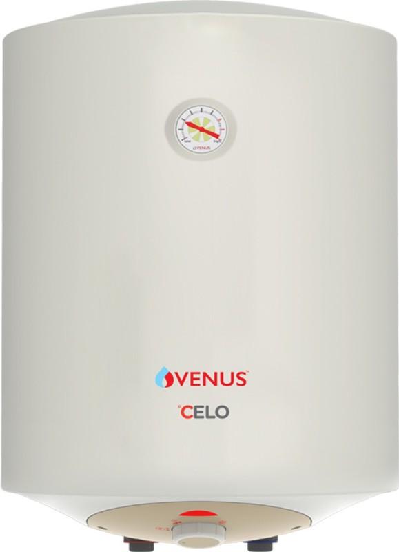 Venus 50 L Storage Water Geyser (venus Celo 35-CV Storage Water heater (Bee Star Rating - 5 Star), White)