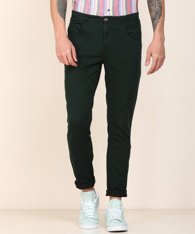 United Colors of Benetton Tapered Fit Men Dark Green Jeans