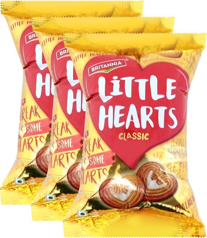 Britannia Little Hearts Classic(225 g, Pack of 3)