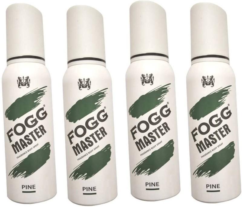 Fogg GREEN PACK OF 4 Body Spray - For Men & Women(120 ml, Pack of 4)