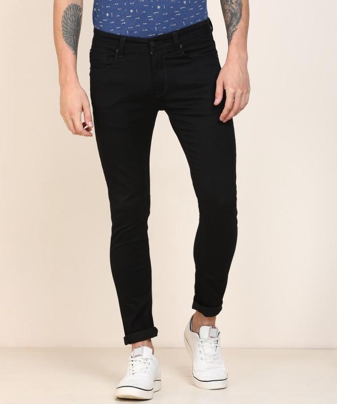 Spykar Super Skinny Men Black Jeans