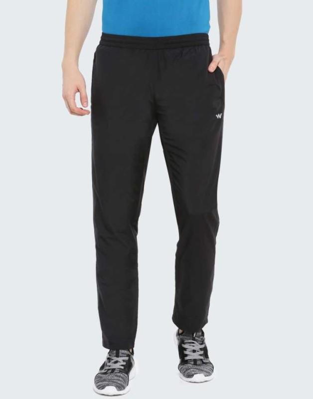 Wildcraft Solid Men Black Track Pants