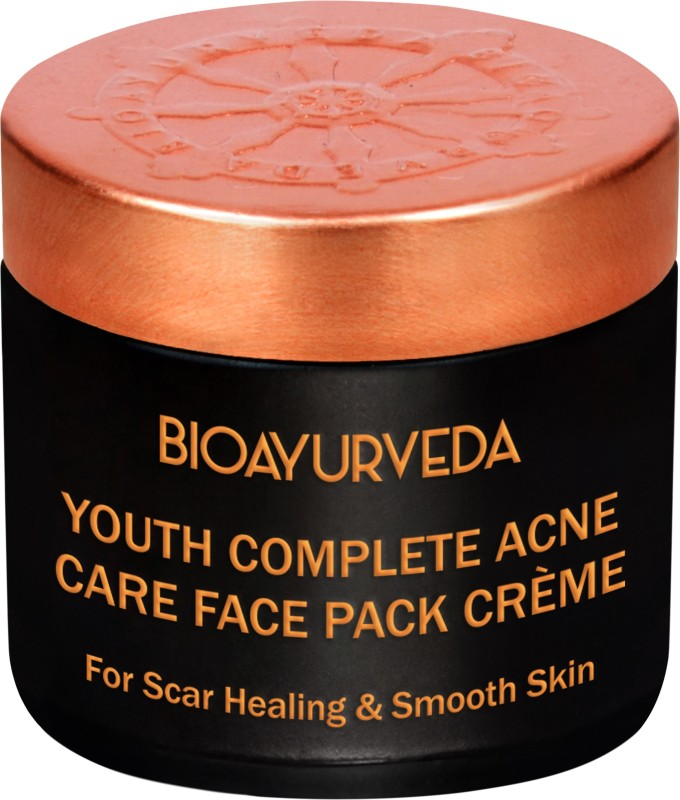 BIOAYURVEDA Youth complete Care Anti-Acne Face Pack for Acne Prone Skin(60 g)