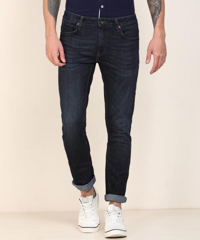 United Colors of Benetton Skinny Men Dark Blue Jeans