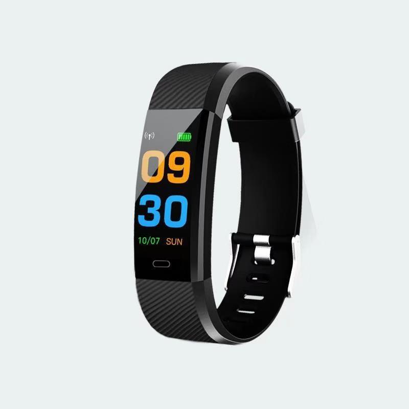 Bingo F0 Plus Fitness Smart Band(Black Strap, Size : Free)