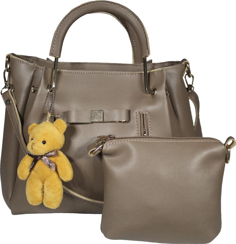 SaleBox Women Brown Handbag