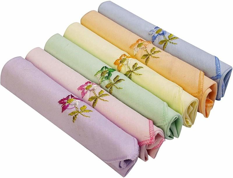 Priya Priya2 Handkerchief(Pack of 6)