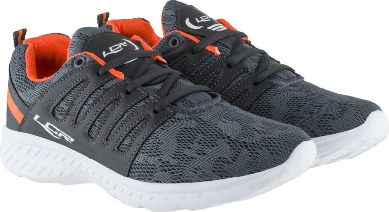Lancer Walking Shoes For Men(Grey, Orange)