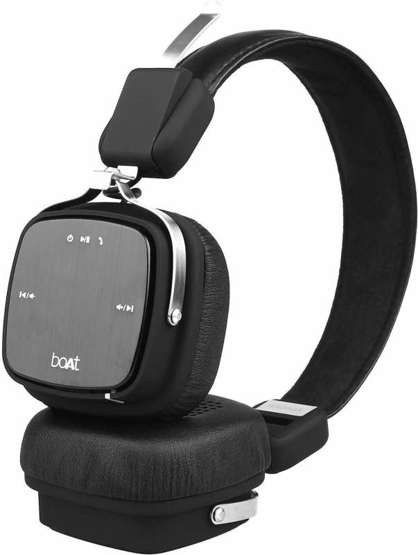 boAt Rockerz 610 HD Sound Bluetooth Headset(Black, Over the Ear)
