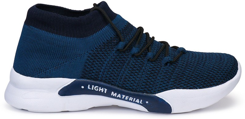 Density Ultra-Lightweight, Breathable, Walking, Running,Gyming Casual Athletic Knitted Sock Casuals For Men(Blue)