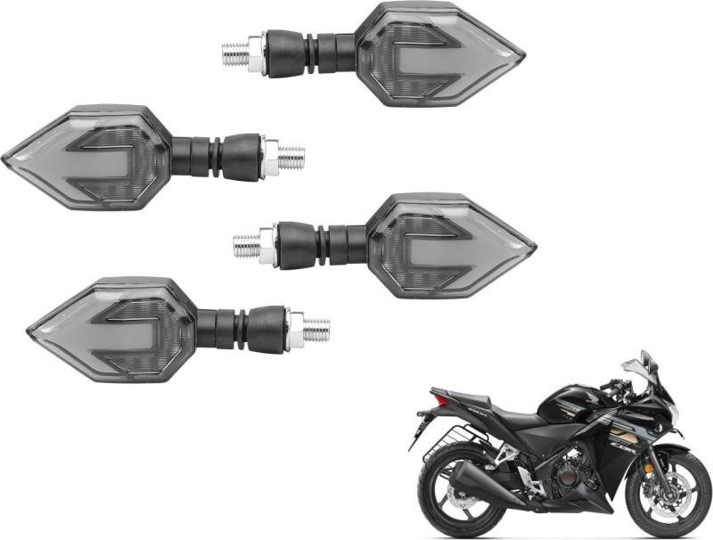 Mockhe Front, Rear LED Indicator Light for Honda CBR 250R(Yellow)