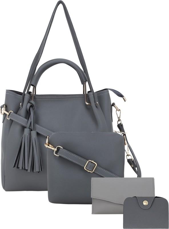 Dixon Women Grey Shoulder Bag