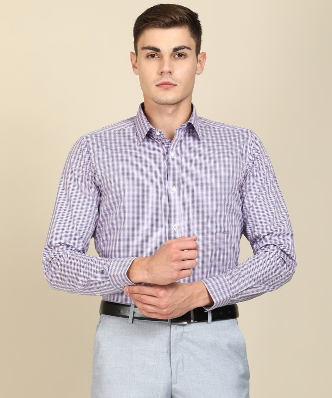 Raymond Men Checkered Formal Multicolor Shirt