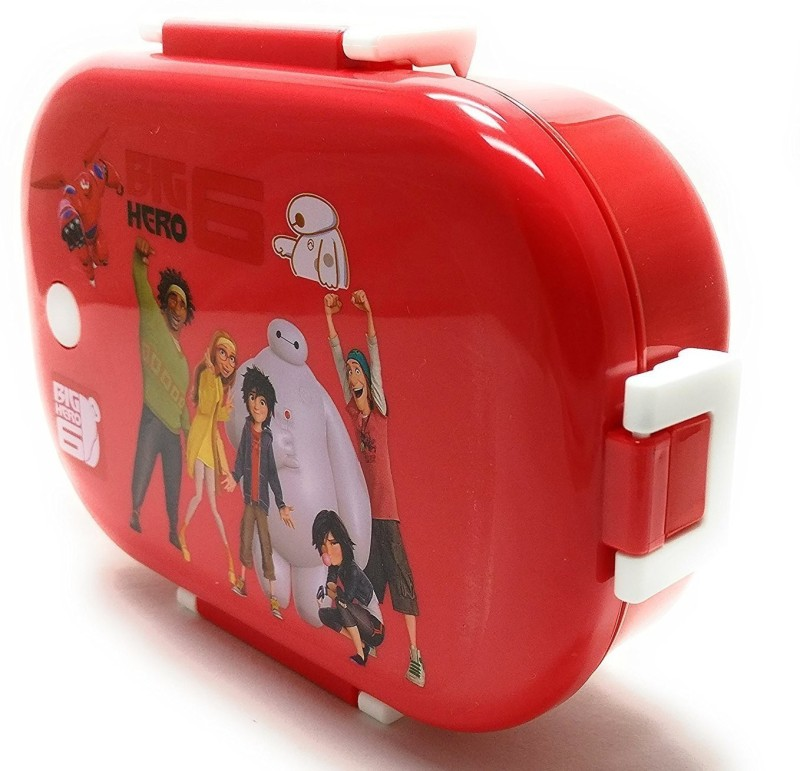 Clastik Cartoon Print Insulated Stainless Steel Kids Lunch Box with BPA Free for Girl and Boy 2 Containers Lunch Box(710 ml)