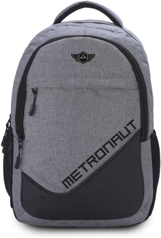 Metronaut Khadi Textured Hi storage 30 L Laptop Backpack(Grey)