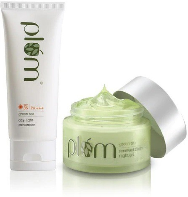 Plum Day + Night Care Gel Duo For Oily, Acne-Prone Skin(2 Items in the set)