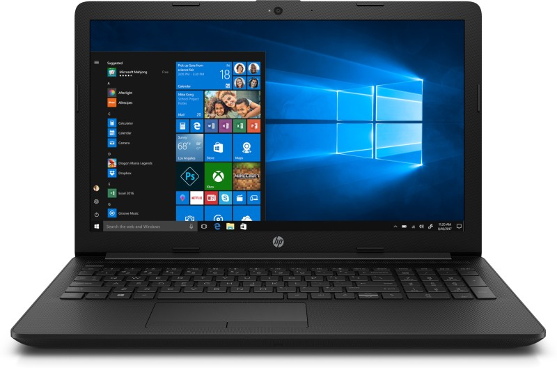 HP 15 Core i3 10th Gen - (4 GB/1 TB HDD/Windows 10 Home) 15-DA3001TU Laptop(15.6 inch, Jet Black, 1.91 kg, With MS Office)